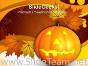 HAPPY HALLOWEEN NATURE POWERPOINT BACKGROUND