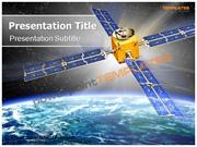 Digital Satellite PowerPoint Templates - templatesforpowerpoint.com