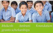 Mukesh Ambani Foundation grants scholarships