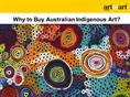 Why to Buy Australian Indigenous Art