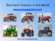 Best Farm Tractors in the World