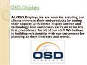 Best Lcd displays by osddisplays