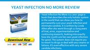 Yeast Infection No More eBook