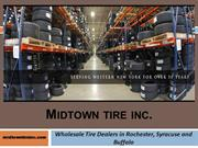 Wholesale Tire Dealers in Rochester, Syracuse & Buffalo of NY
