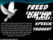 Freedom of Expression,Belief, Speech,Thought-Matilde Moreira, nº21