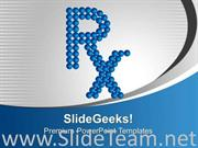 RX SYMBOL POWERPOINT BACKGROUND