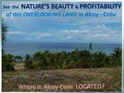 A.S. - Overlooking Land for Sale in Alcoy Cebu