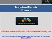 Three Dimensional IC Market