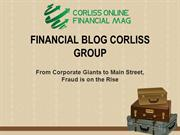 Financial Blog Corliss Group: Fraud is on the Rise