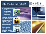 Let's Predict the Future: Gathering interests: (C2)