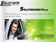 SolutionsAuto.ca Automobile Recruitment and Jobs Search Solutions