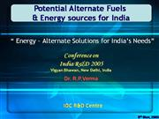 TOWARDS HYDROGEN ENERGY ECONOMY IN INDIA