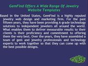 GemFind Offers A Wide Range Of Jewelry Website Templates