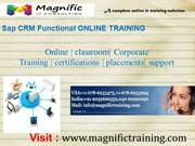 sap crm functional online training in india