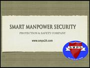 Security Guard Services in Noida - Smart Manpower Security