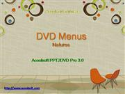 DVD Menus - photo slideshow Natures