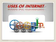 uses of internet by satish rao