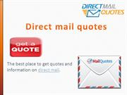 direct mail quotes