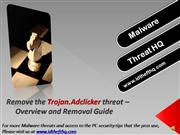 Remove the Trojan.Adclicker Infection