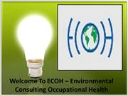 ECOH - Infection Control and Health Care Consulting Firm