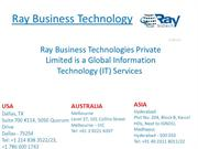 Ray Business Technology