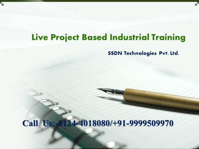 Project Based Training Live Project Based Industrial