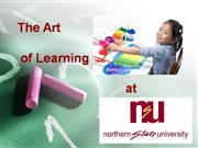The art of learning e-portfolio d2l