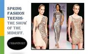 Spring Fashion trends- The show of the midriff.