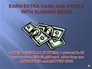 Earn cash and prizes