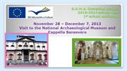 04-12-13 Visit to National Archaeological Museum of Naples.