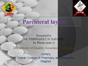 parentrals layout study by Vishwajeet