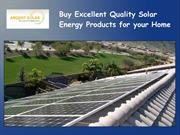 Buy Excellent Quality Solar Energy Products for your Home