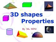 3d shape properties