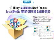 10 Things Agencies Need From a Social Media Management Dashboard
