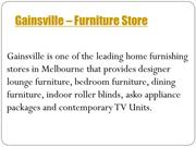 Gainsville -Dining Furniture