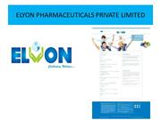 Elyon Pharmaceuticals-Best Product Manufacturing Company in Delhi.