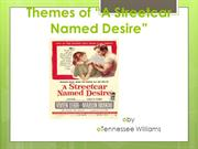 A Street Car Named Desire by Tennessee Williams
