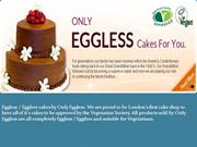 Only Eggless, London - Egg Free Delicious Cake Shop