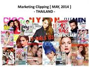 Thailand Clipping May, 2014