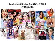 Thailand Clipping March, 2014 (Latest Updated on 04-04-14)