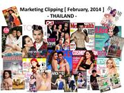 Thailand Clipping Feb, 2014 (Latest Updated on 04-04-14)
