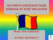OLD PHOTO PORTRAITS FROM ROMANIA BY KURT HIELSCHER
