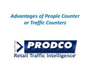 Advantages of People Counter or Traffic Counters - prodcotech