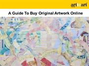 A Guide To Buy Original Artwork Online