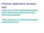 BUSS3 Chapter 4 interpreting published accounts