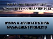 Dyman & Associates Risk Management Projects on Top 20 Mobile Security