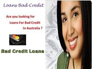 Loans Bad Credit- Enhance Your Financial Status Without Credit Check