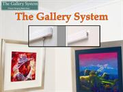 Various uses of art hanging systems