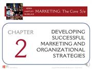 Online Narrated PowerPoint -Chapter 2 Developing Successful Marketing