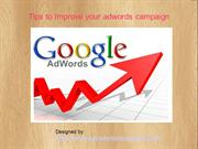 Tips to Improve your Adwords Campaign
